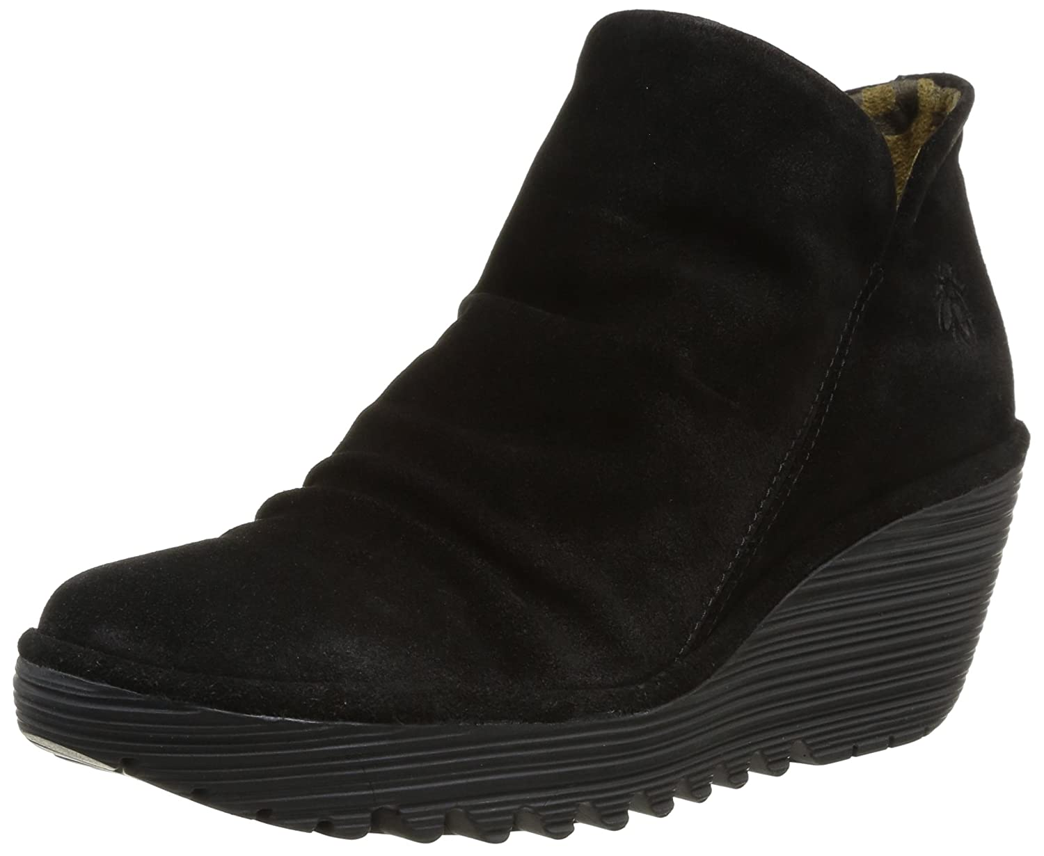 FLY London Women's Yip Boot B00IYJDZ74 36 M EU / 5.5 B(M) US|Black Oiled