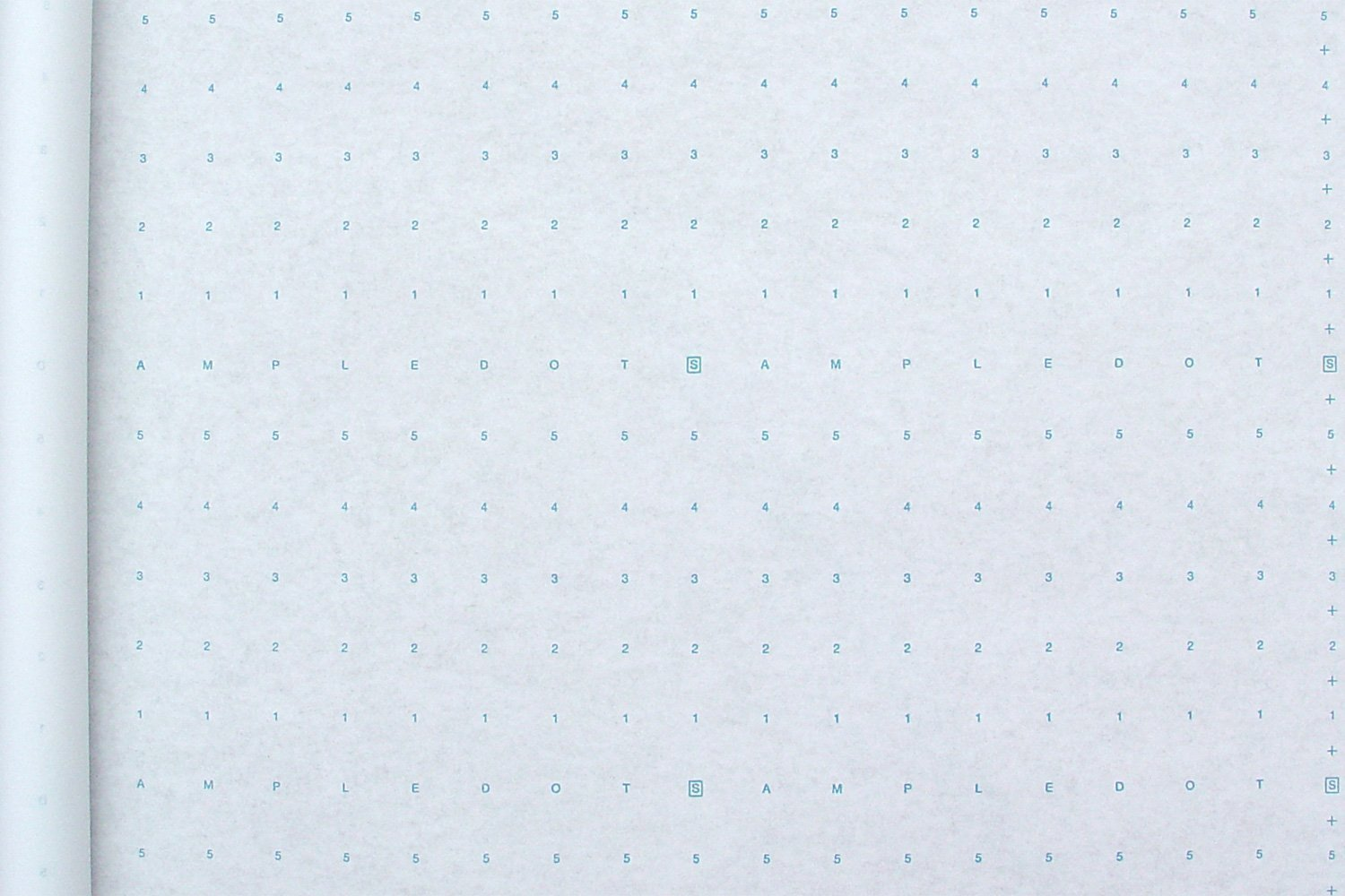 Alpha Numeric Dotted Marking Paper/Pattern Paper (48'' X 30 Yards) Optimum Performance. MADE IN USA