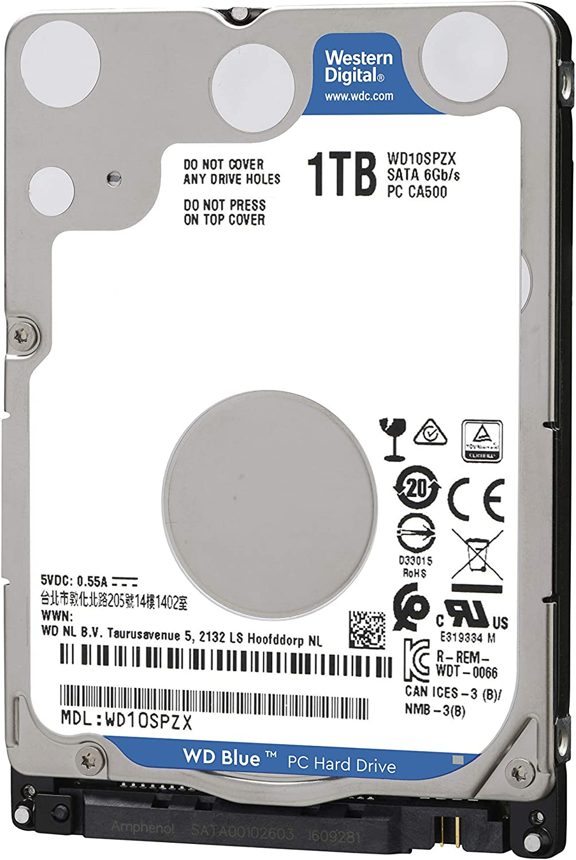 Western Digital Wd10spzx Wd Blue 1000gb Sata Festplatte Computer Zubehör