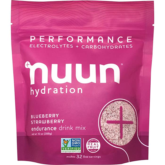 Nuun Performance Hydration: Blueberry Strawberry, Individual Pouch