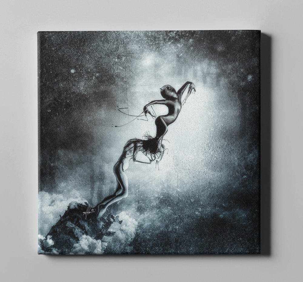 Cortesi HomeHost by Mario Sanchez Nevado Giclee Canvas Wall Art 26 x 26 Grey