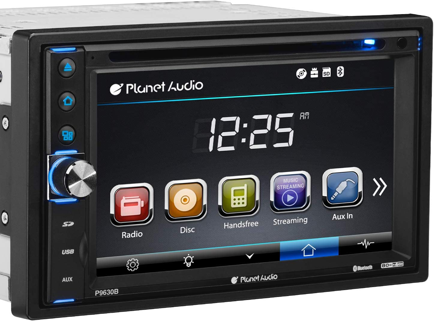 Planet Audio Double 2 DIN Bluetooth In-Dash AM//FM//Digital Media Car Stereo Radio