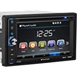 Planet Audio P9630B Car DVD Player - Double Din, Bluetooth Audio and Hands-Free Calling, 6.2 Inch LCD Touchscreen Monitor, MP