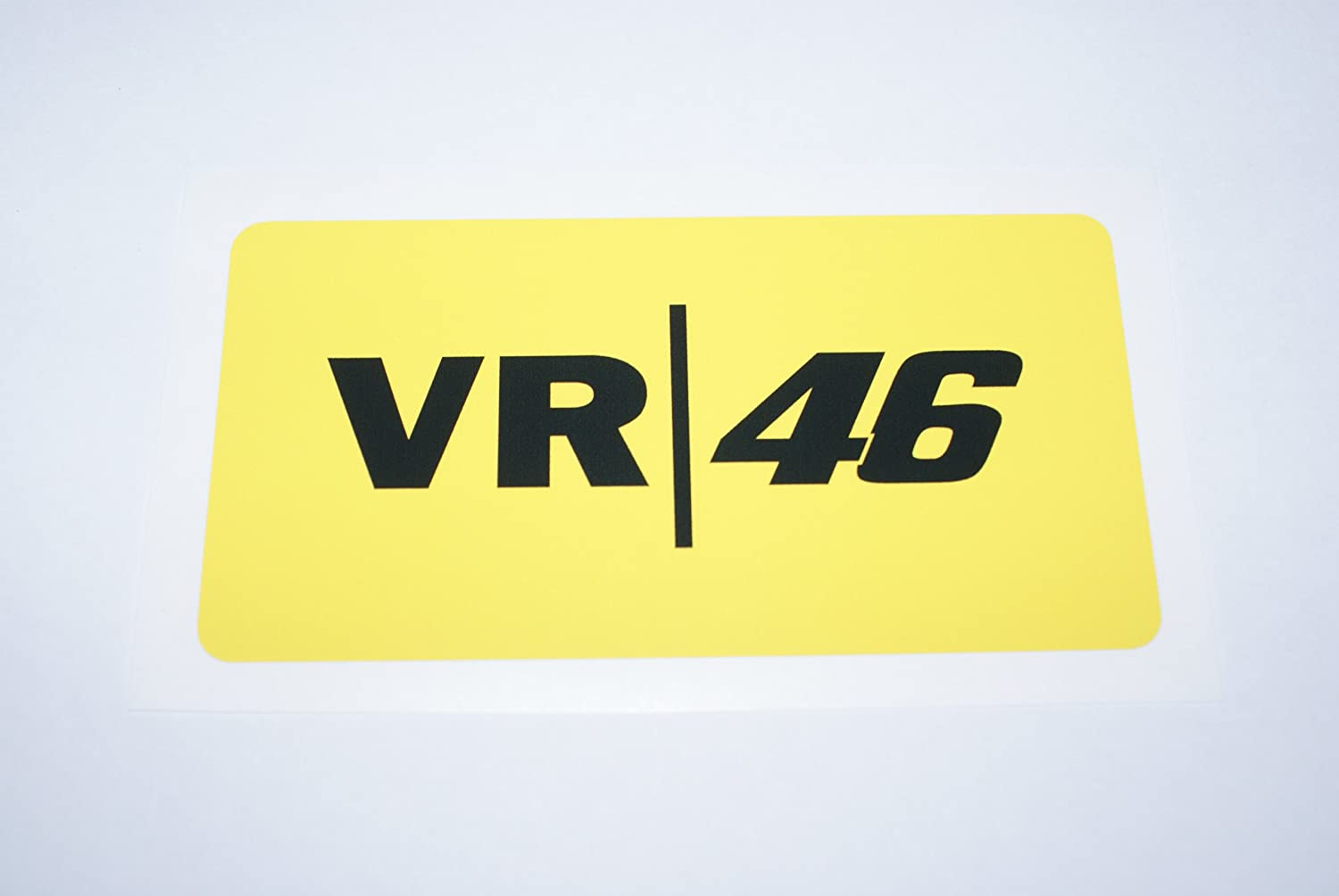 Rapro Graphics Rossi Vr-46 Decal/Sticker - Yellow .