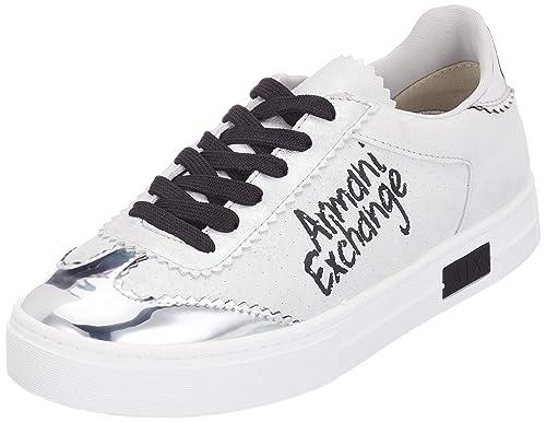 Garanzia di qualità al 100% 2019 originale miglior sito web ARMANI EXCHANGE Lace Up Sneaker Chalk Writting Logo, Scarpe ...