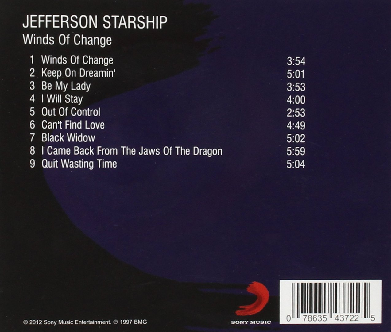 Jefferson Starship Winds Of Change Amazon Music