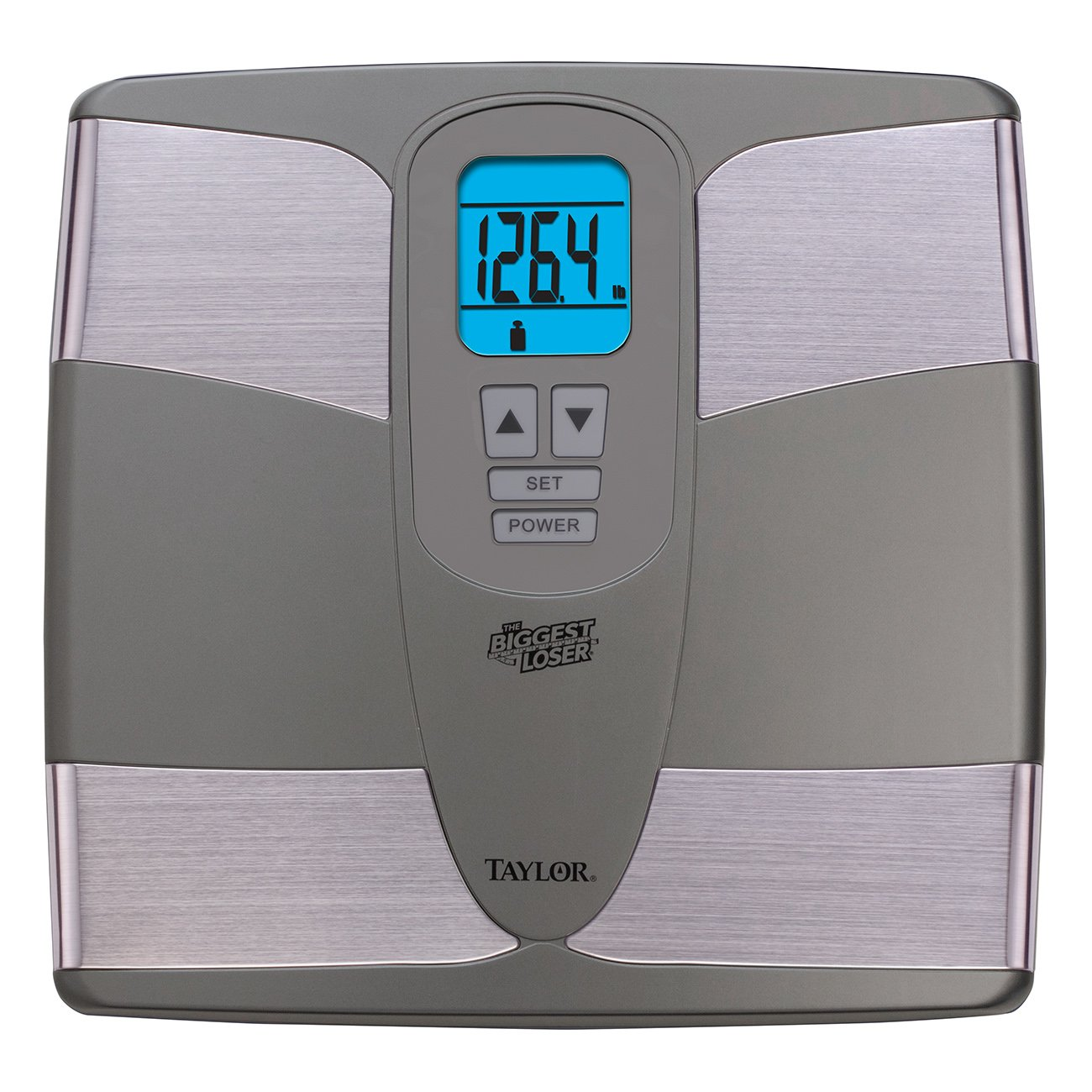 Taylor Precision Products The Biggest Loser Body Fat Analyzer Scale