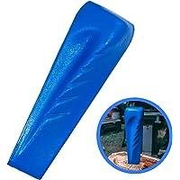 Trawomax® Spaltkeil zum Spalten von Holz - [2 kg] - Drehspaltkeil aus Extra gehärtetem Carbonstahl mit hoher Langlebigkeit - Holzspaltkeil | Spalter für Holz | Spaltgranate