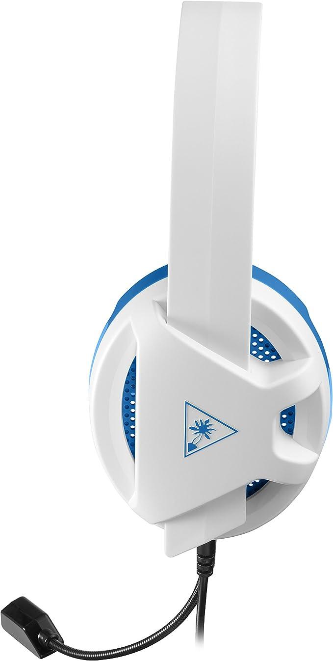 Turtle Beach Recon Chat Auriculares Gaming PS4, PS5, Xbox One, Nintendo Switch y PC, Blanco: Amazon.es: Videojuegos