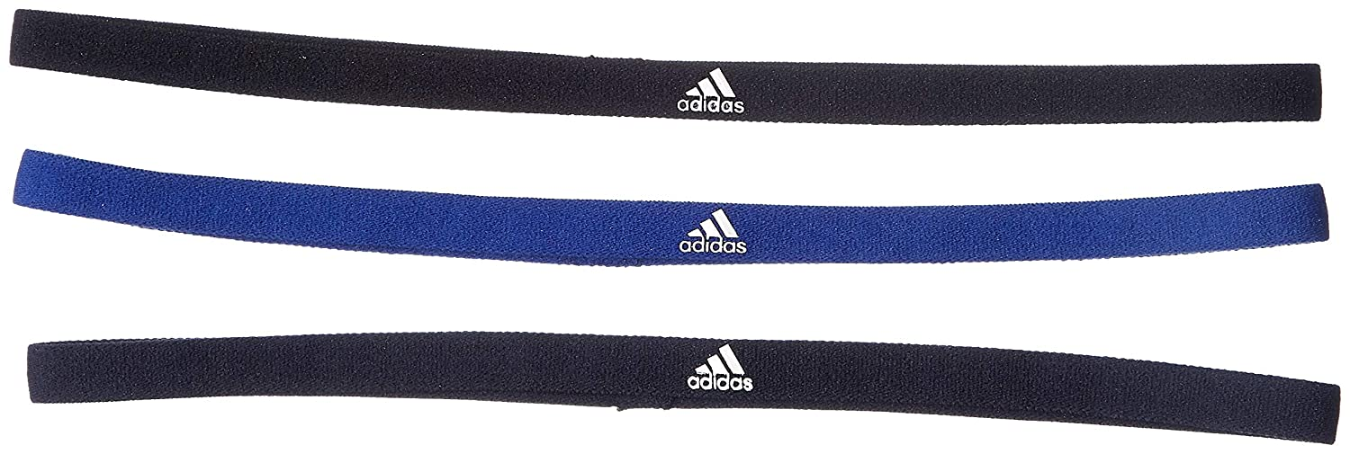 adidas 3 Pair Pack Stirnband Black/Mystery Legend Ink One Size DJ1044