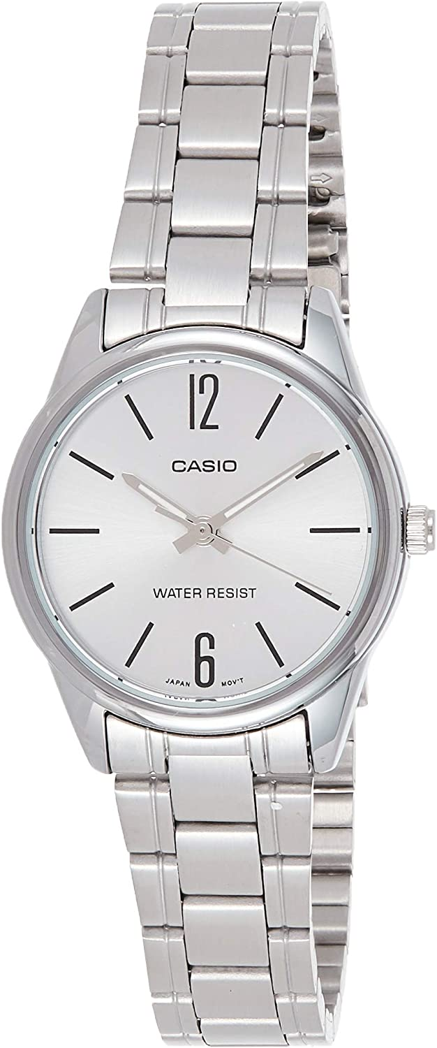 Casio MTP V005D 1A Montre à Quartz Japonaise 40 mm: Amazon