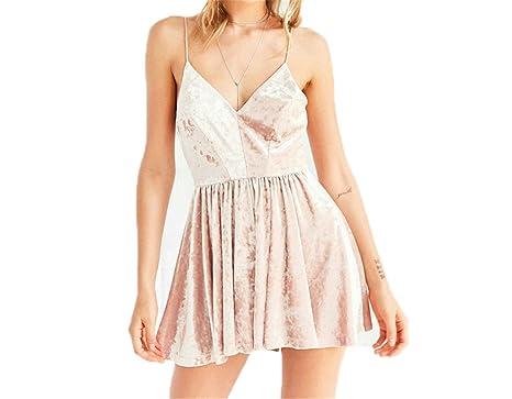 Twilaisaac Fashion Atumn velver trendy dress sexy com decote em v de diamante brilhante alcinhas flare