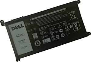 DELL WDX0R Notebook Battery 11.4V 42WH for Dell Inspiron 5368 5378 5379 5565 5567 5568 5570 5578 5579 5765 5767 7368 7378 7560 7569 7570 7573 7579 7580 Best OEM Quality