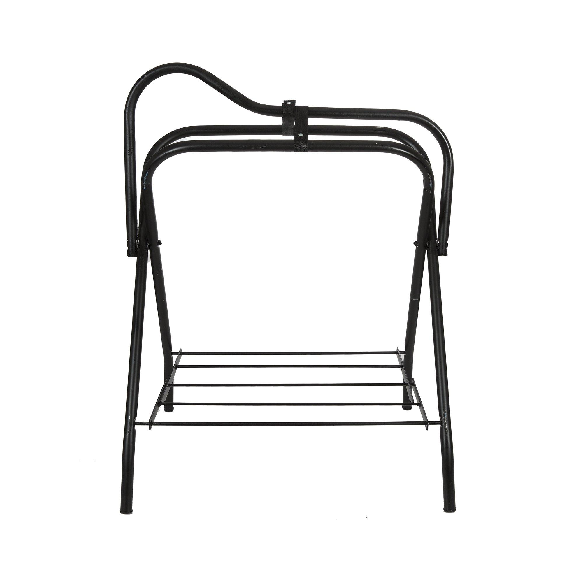 Intrepid International Folding Saddle Stand, Black by Intrepid International