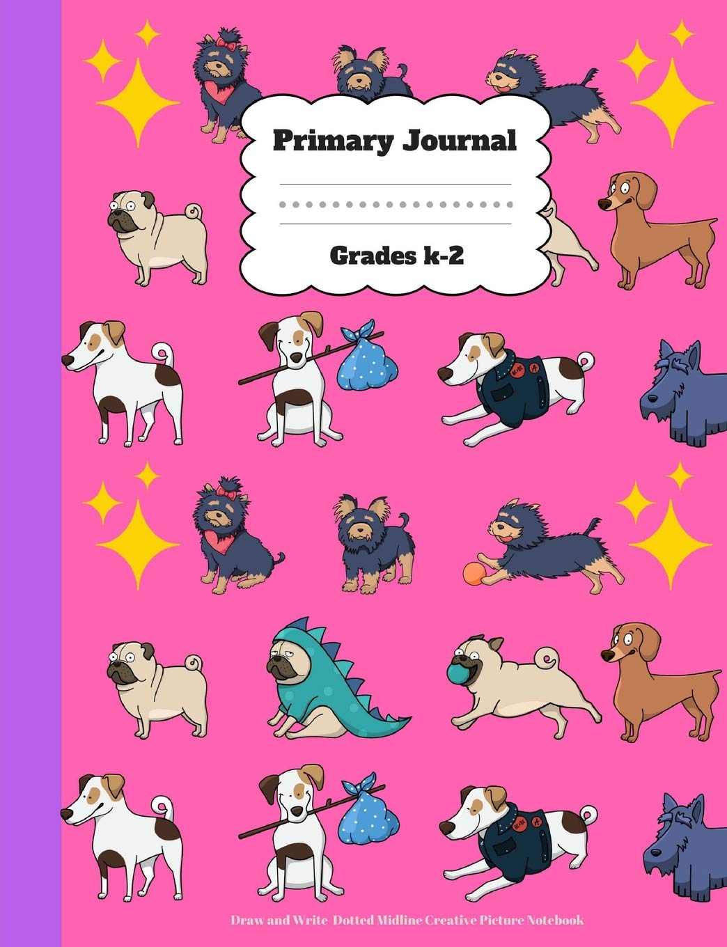 Primary Journal Grades k-2: Draw and Write, Dotted Midline Creative Picture Note pdf epub