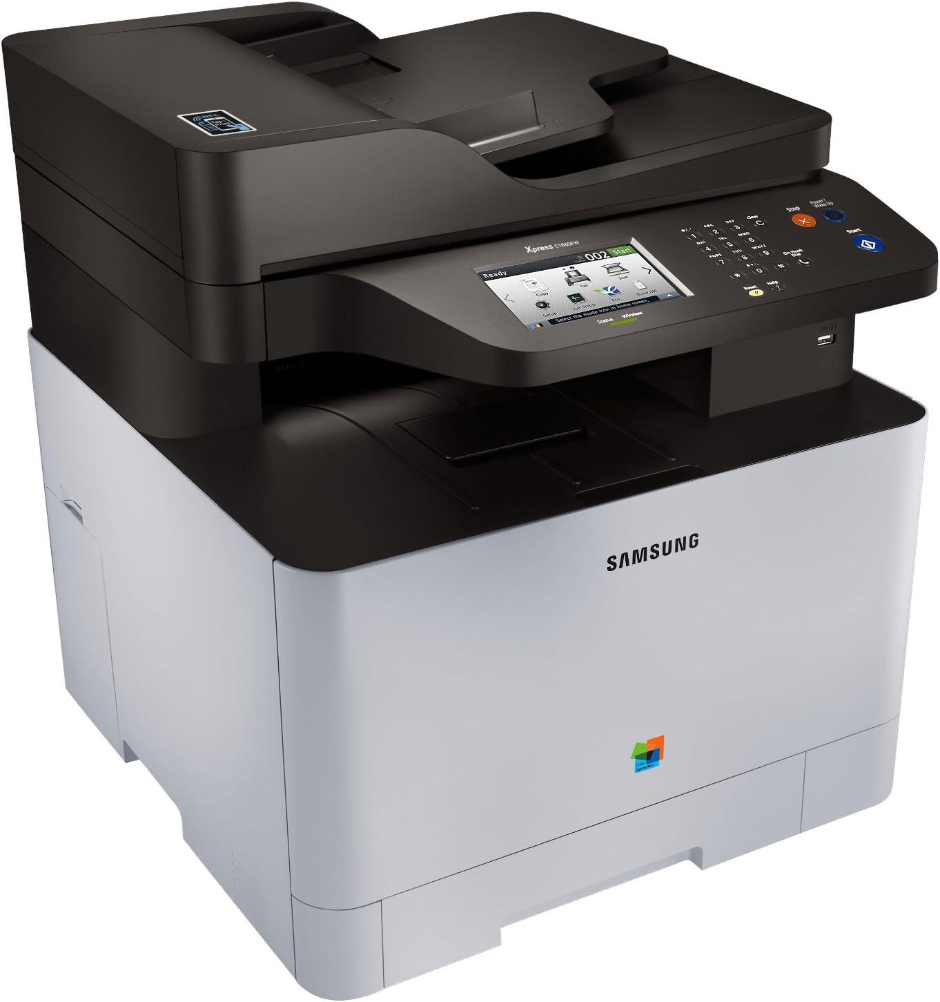 Samsung Xpress SL-C1860FW FB-MULTIFUNKTIONAL SS205M#EEE: Amazon.es ...