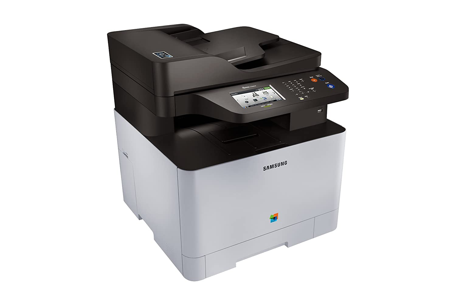 Xpress color printing - Amazon Com Samsung Sl C1860fw Xaa Wireless Color Printer With Scanner Copier And Fax Amazon Dash Replenishment Enabled Electronics