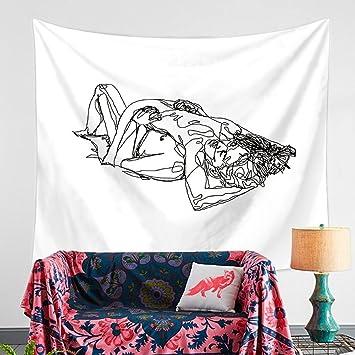 hanshi pared Alfombra Modern suave ultrafina pared adornos pared toalla Mantel Toalla de playa de ligero Polyster pared decoración decoración para ...