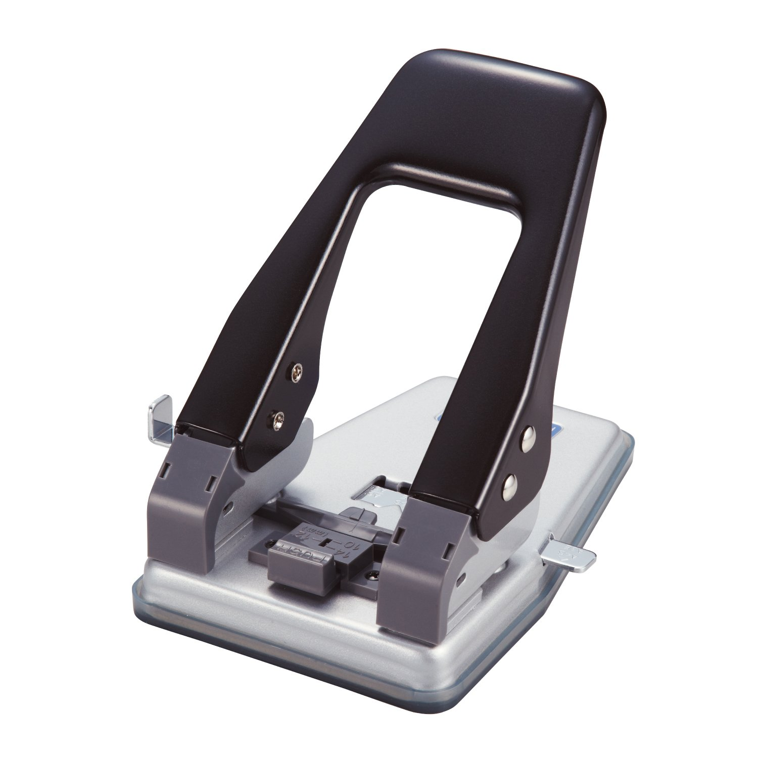 Open Industrial 2-hole punch black PU-80N-BK (japan import)