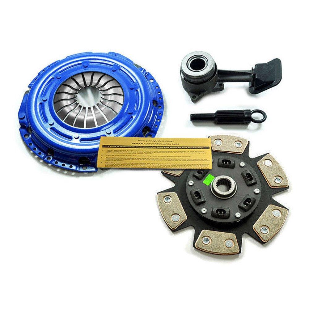EFT etapa 3 Sport Kit de embrague + esclavo 00 - 04 Ford Focus se ZTS ZTW ZX3, ZX5 2.0L DOHC: Amazon.es: Coche y moto