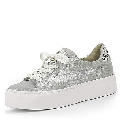 26e7c60b20bd11 Paul Green 4689-014 Damen Sneaker aus Veloursleder Frotteefutter 40 ...