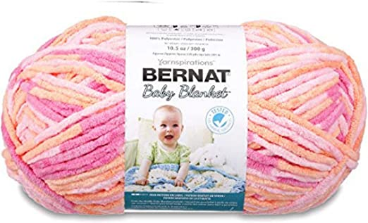 Bernat Baby Blanket Big Ball Peachy