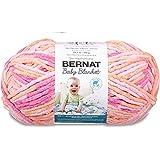 Bernat 婴儿毛毯纱线 - (6) *笨重的规格 - 26.67 克 - 桃红色 - 单球可机洗烘干