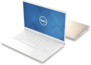 """New Dell XPS13, XPS9380-7885GLD-PUS, Intel Core i7-8565 (8MB Cache, up to 4.6GHz), 8GB 2133Hz RAM, 13.3"""" 4K Ultra HD (3840x2160) InfinityEdge Touch Display, 256GB SSD, Fingerprint Reader, Gold"""