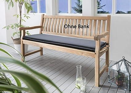 Bankpolster Destiny 130 cm Kissen Auflage f/ür Gartenbank Bank Polster GRAU