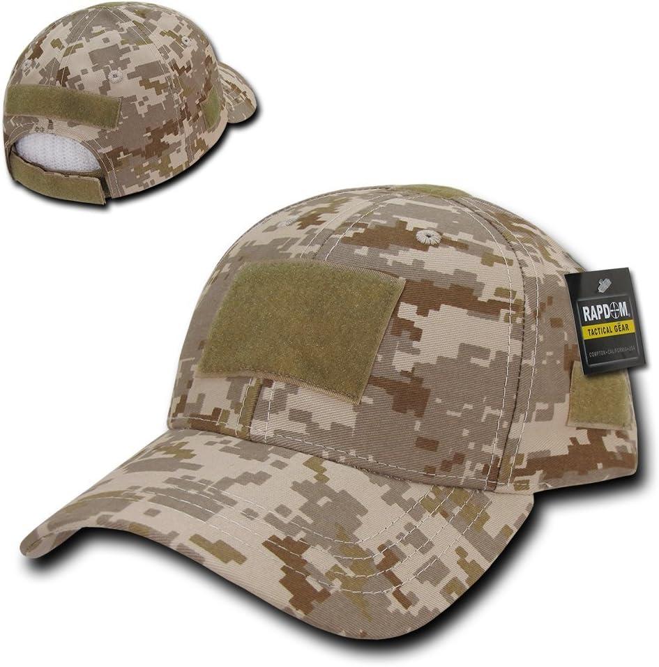 Rapdom Tactical Low Crown Structured Cap