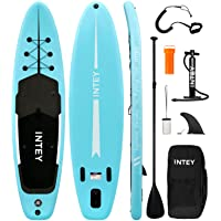 """Inflatable Stand Up Paddle Board 11'×33""""×6"""" SUP with Complete Premium Accessories, Wide Stance, Surf Control, Double…"""
