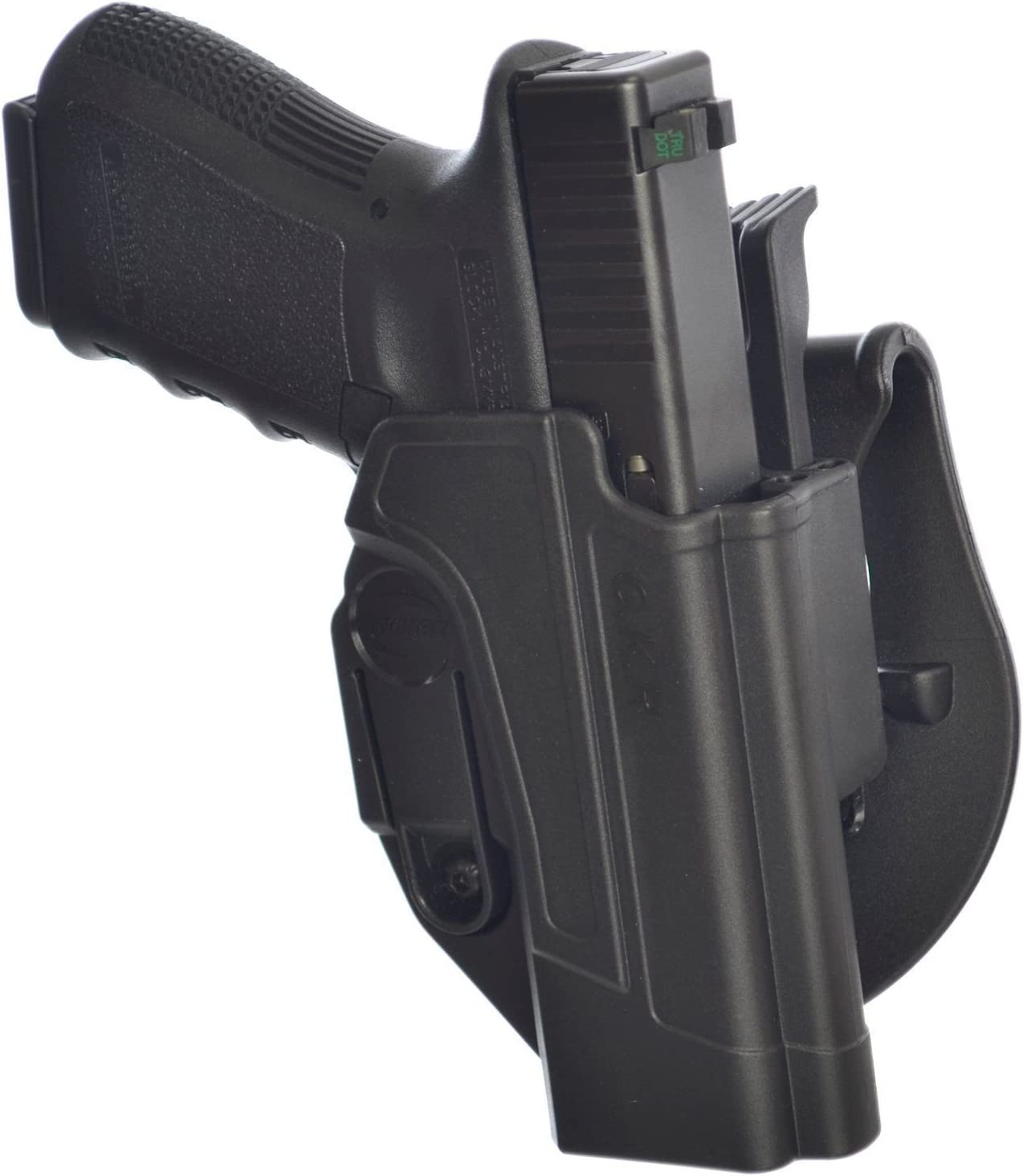 Orpaz Glock 34 Thumb Release Holster Black Polymer Rotation Paddle  Adjustment