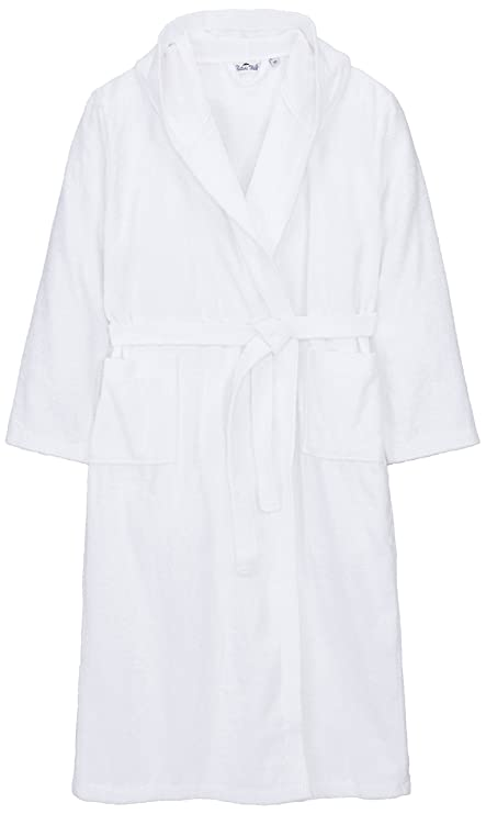 Long or extra long unisex 100% organic cotton hooded bath robes e3e802140
