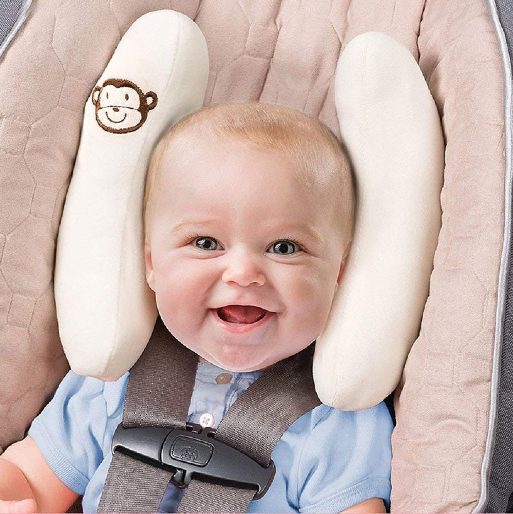 Runfon Baby Car Seat Pillow Head and Neck Sets Adjustable Neck Support Pillow Car Travel Pillow for Baby Seat Childrens Toddler Stroller Stroller Head Supports 100/% New