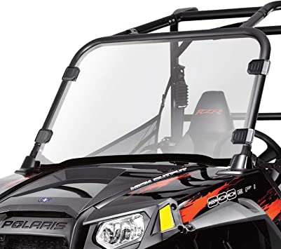 Front Full Windshield /& hardware NON FOLDING NEW For Polaris RZR 800 S RZR4 New