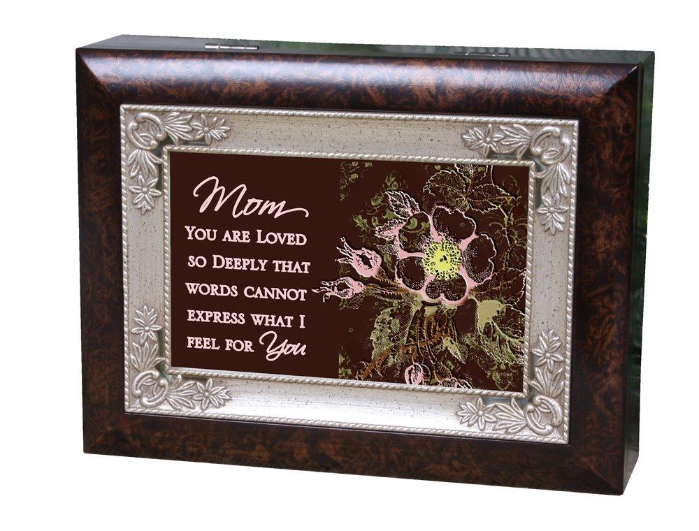 Cottage Garden Italian Inspired Music Box - Mom Plays Light Up My Life