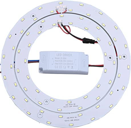 Ledy 33w Led Ceiling Light Fixtures Retrofit Board Replacement Panel 9 84 Inch 3630lm Light Bulb Replace Incandescent Fluorescent Bulb Round Tube Warm White Amazon Com