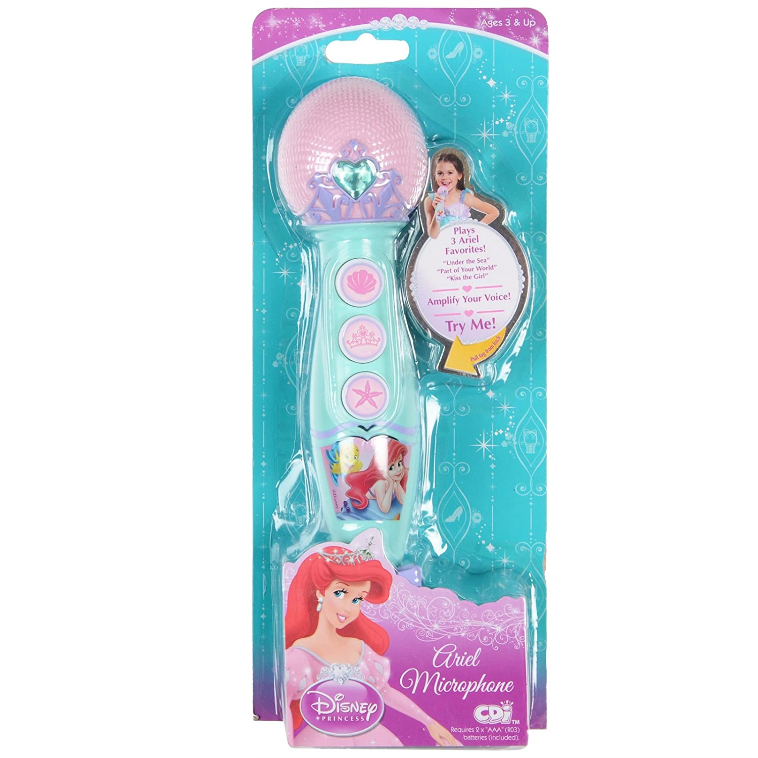 Disney princess ariel singing microphone amazon toys games geotapseo Images