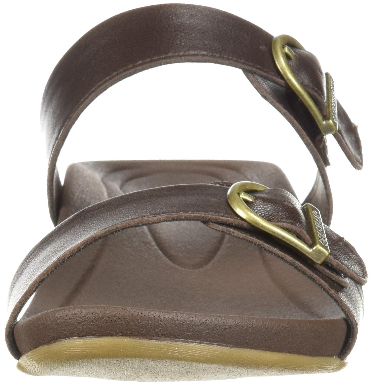 Eastland Women's Cape Ann Slide Sandal B076QHSH5Q 11 B(M) US|Walnut
