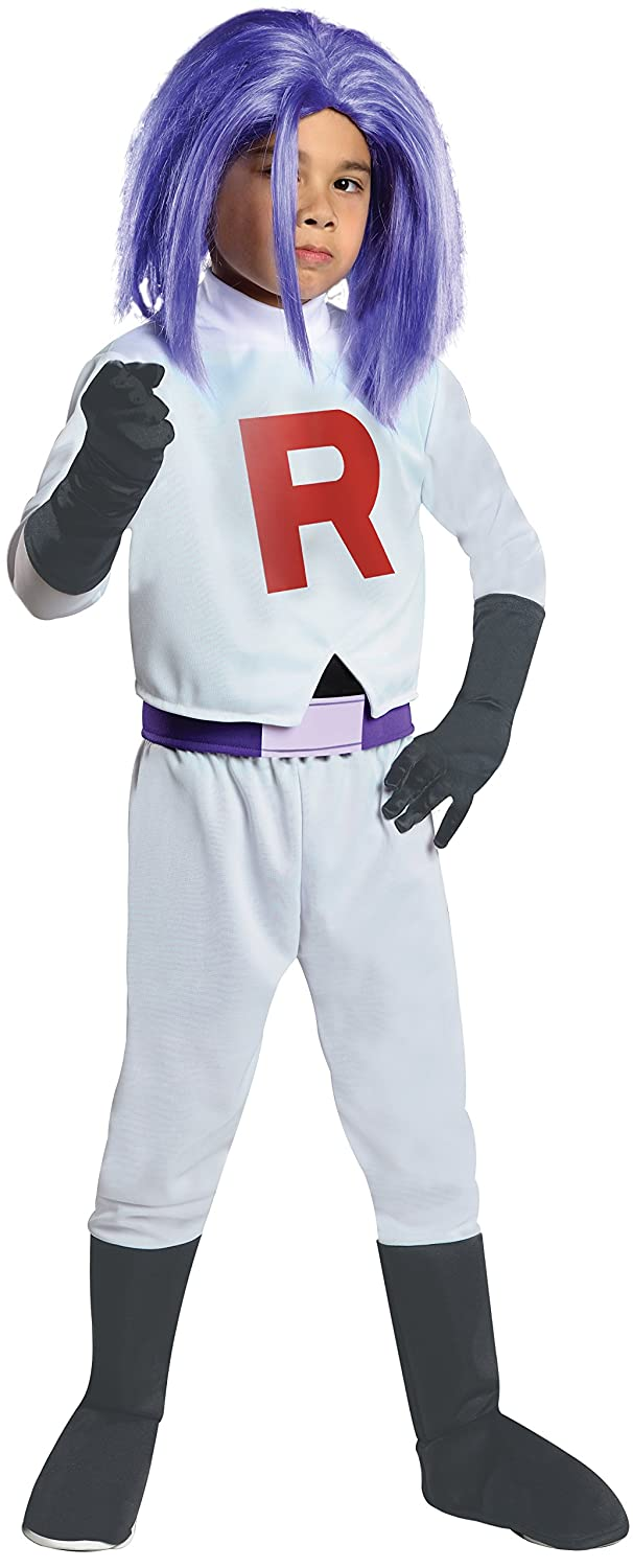 Disfraz de James Team Rocket para niño - 5-7 años: Amazon.es ...