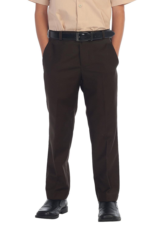 Gioberti Boys Flat Front Dress Pants China SL