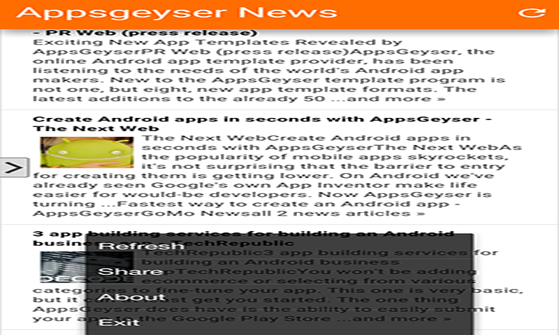 Appsgeyser News: Amazon ca: Appstore for Android