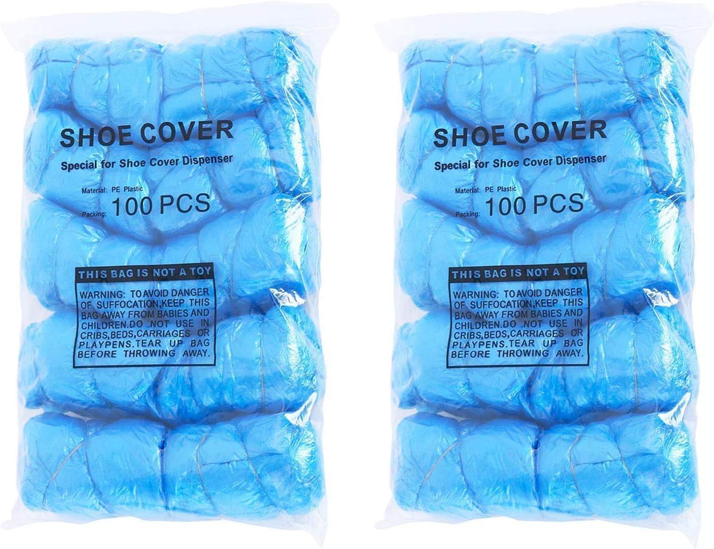 Dmygo 200 Cubrezapatos Pack - desechable for la higiene de Arranque de la Cubierta for el médico de la construcción del Lugar de Trabajo Cubierta de alfombras de protección de Suelos