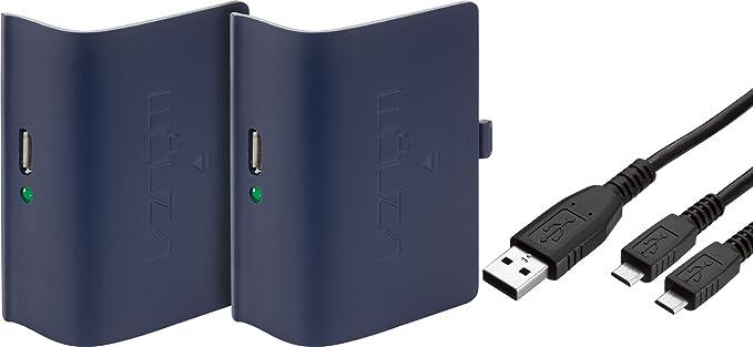 Venom Xbox One Rechargeable Battery Twin Pack: Blue - Xbox One [Importación inglesa]: Amazon.es: Videojuegos