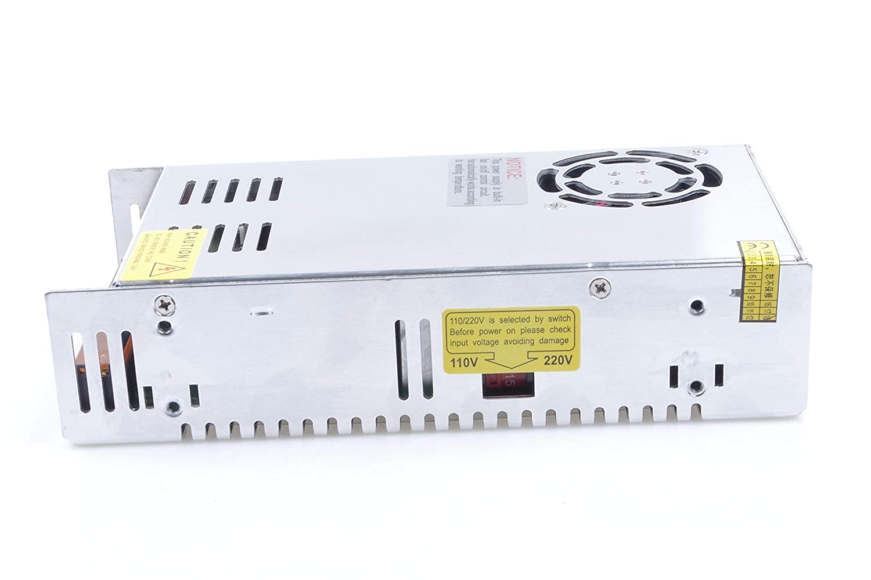 KNACRO LED Power Supply 24V 14.6A 350W AC 100V-120V Converter Adapter DC S-350W-24 Power Supply for LED Lighting,LED Strip,CCTV 24V 14.6A 350W