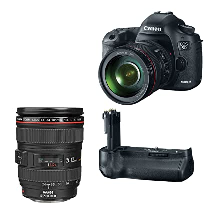 Amazon.com : Canon EOS 5D Mark III 22.3 MP Full Frame CMOS Digital ...