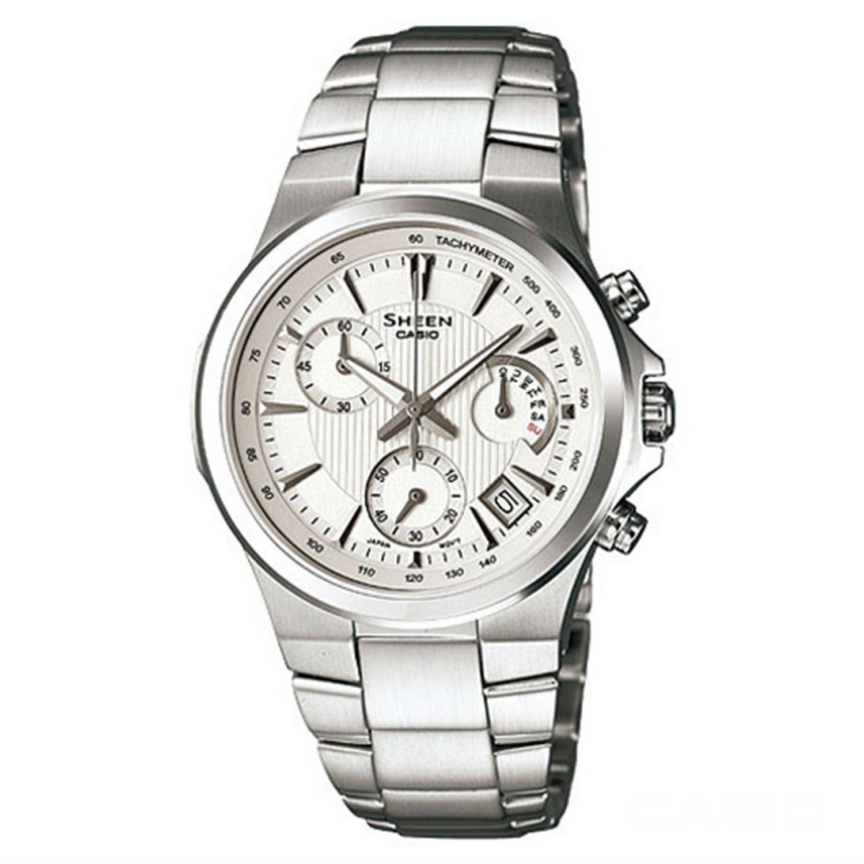 Casio SHE-5019D-7ADR Ladies SHEEN Chronograph Watch