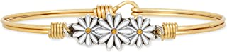 product image for Luca + Danni | Daisies Bangle Bracelet For Women Made in USA