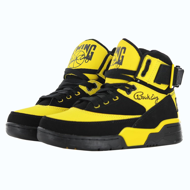 Patrick Ewing - Zapatillas de Baloncesto para Hombre Negro Negro, Color Negro, Talla 45 EU: Amazon.es: Zapatos y complementos