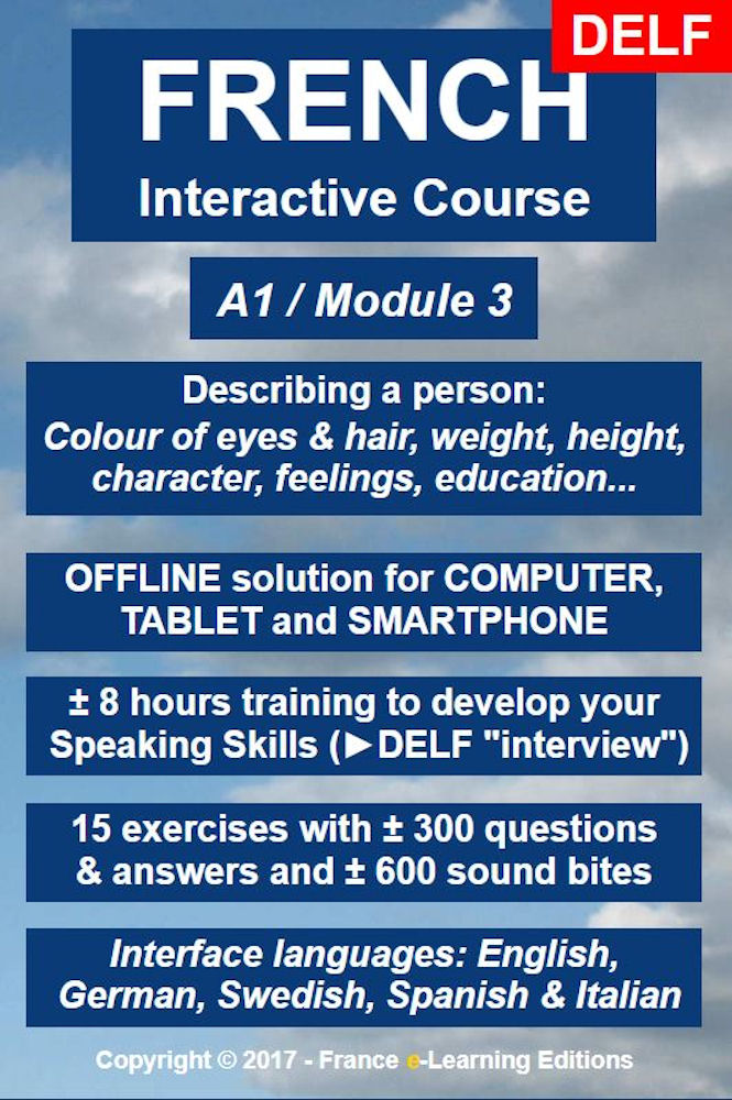 Learn French: Interactive Course - A1 (Beginner) / Module 3: